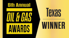 2018 Oil & Gas Award - Texas Winner