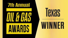 2019 Oil & Gas Award - Texas Winner
