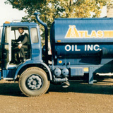 Atlas Oil fuel truck