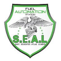 Atlas Oil Company's Safe Educated Leaders SEAL Icon