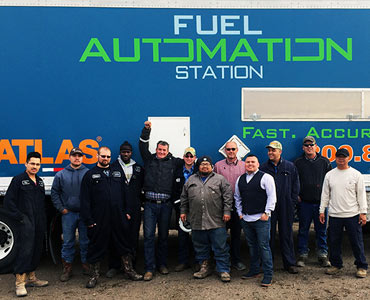 Fuel Automation Station Team Members - Atlas Oil Company