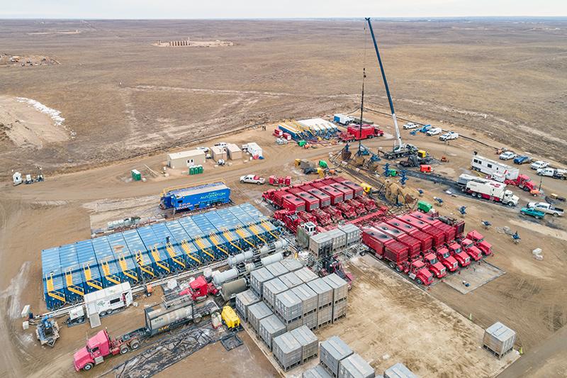 Frac Site - Oil & Gas Lubricants
